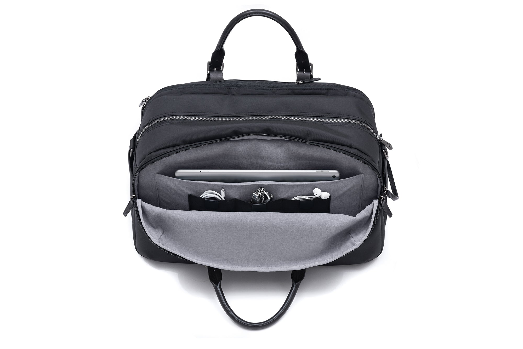 The Regimen Gym Bag by Stuart & Lau _ Men's Duffel Gym Bag