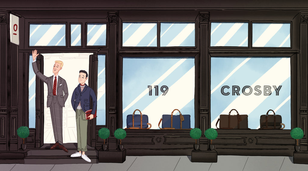 Banner Image of Stuart & Lau's Store at 119 Crosby Street,  New York NY 10012, Store Hours 12pm to 6pm daily.