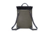 Stuart & Lau Clarke Totepack - Backpack View - Olive