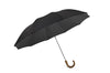Fox Umbrellas - Maple Crook Handle - Black