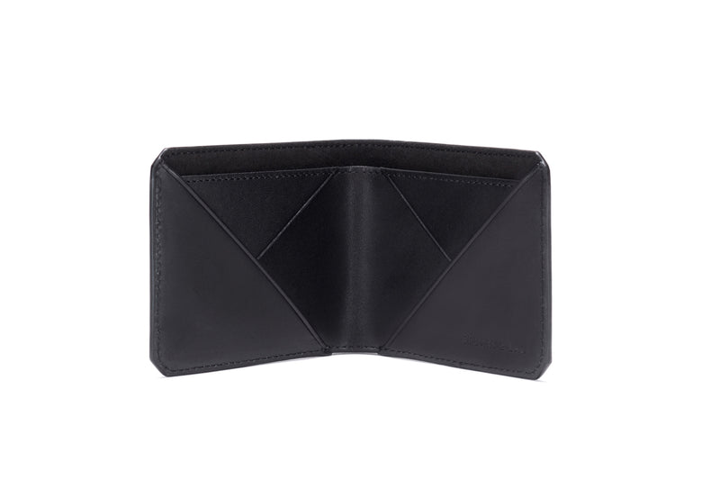 Stuart & Lau _ Wallet _ Closed _ Saffiano Black