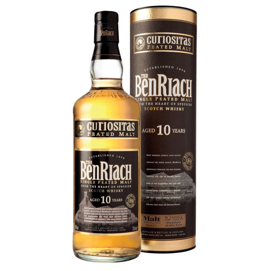 BenRiach Curiositas Single Malt Whisky