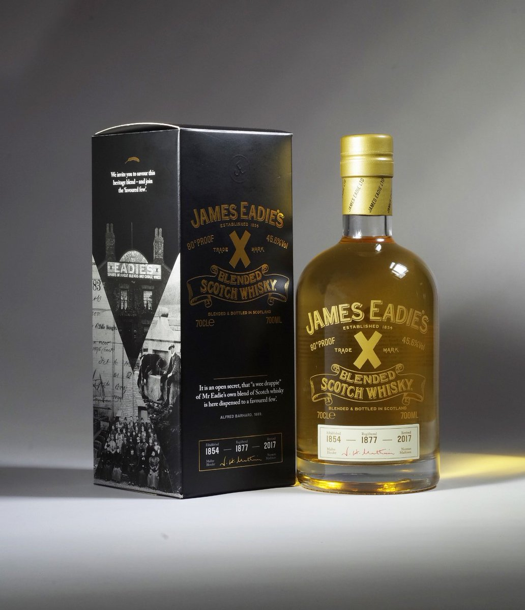 James Eadie Trademark X Blended Scotch Whisky