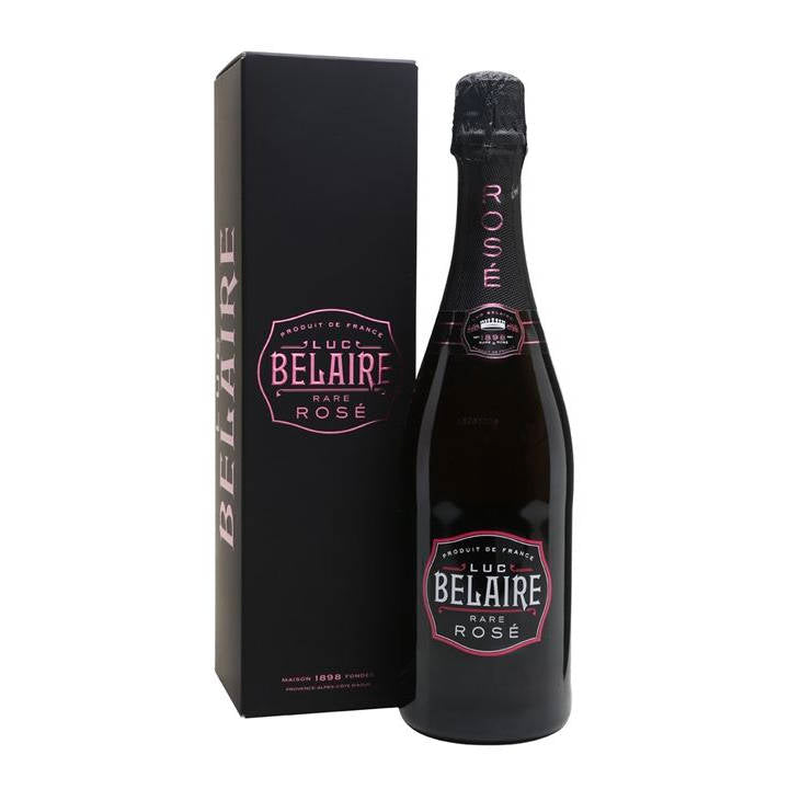 1 kasse Luc Belaire Rare Rosé Limited Edition Giftbox 75 cl (6 flasker)