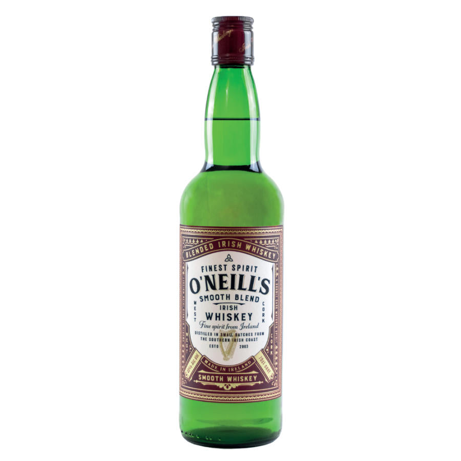 O'Neill's Smooth Blend - Double Matured Irish Whiskey - West Cork Distillers