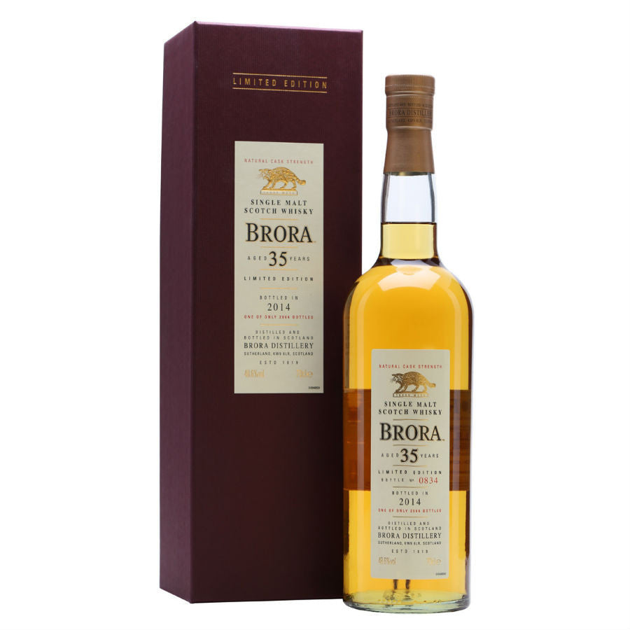 Brora 35 Year Old 1978 (13th release 2014)-TastingClub