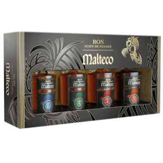 Malteco Rom Maya Colleccion - 3 stk god rom i gaveæske