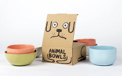 Meow! Eat like a cat: 'ANIMAL BOWLS' by Jean Jullien x Case Studyo