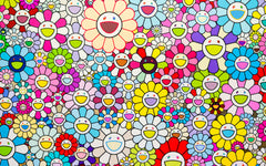 Murakami Candidly Shares a More Vulnerable Side in His Latest Show of Technicolour.