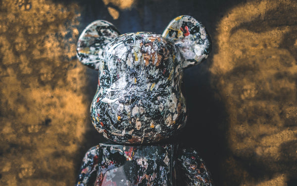 Medicom Toy Presents The Second Jackson Pollock BE@RBRICK Collaboration