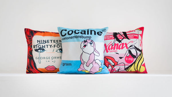 Spice up your sofa with Ben Frost