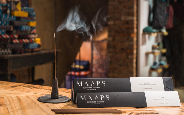 Whisk Yourself Away With MAAPS' Range of Handmade Incense Sticks