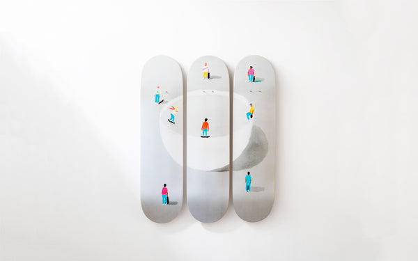 Jean Jullien collection by The Skateroom & Case Studyo