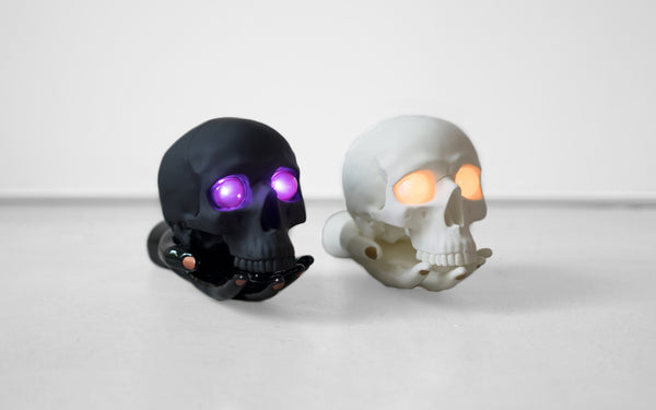 LET THE SKULL & HAND LAMP BY UNDERCOVER AND P.A.M. LEAD THE WAY THROUGH THE DARK