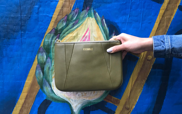 Receive a Free Hault Pouch with Purchase of Esemble