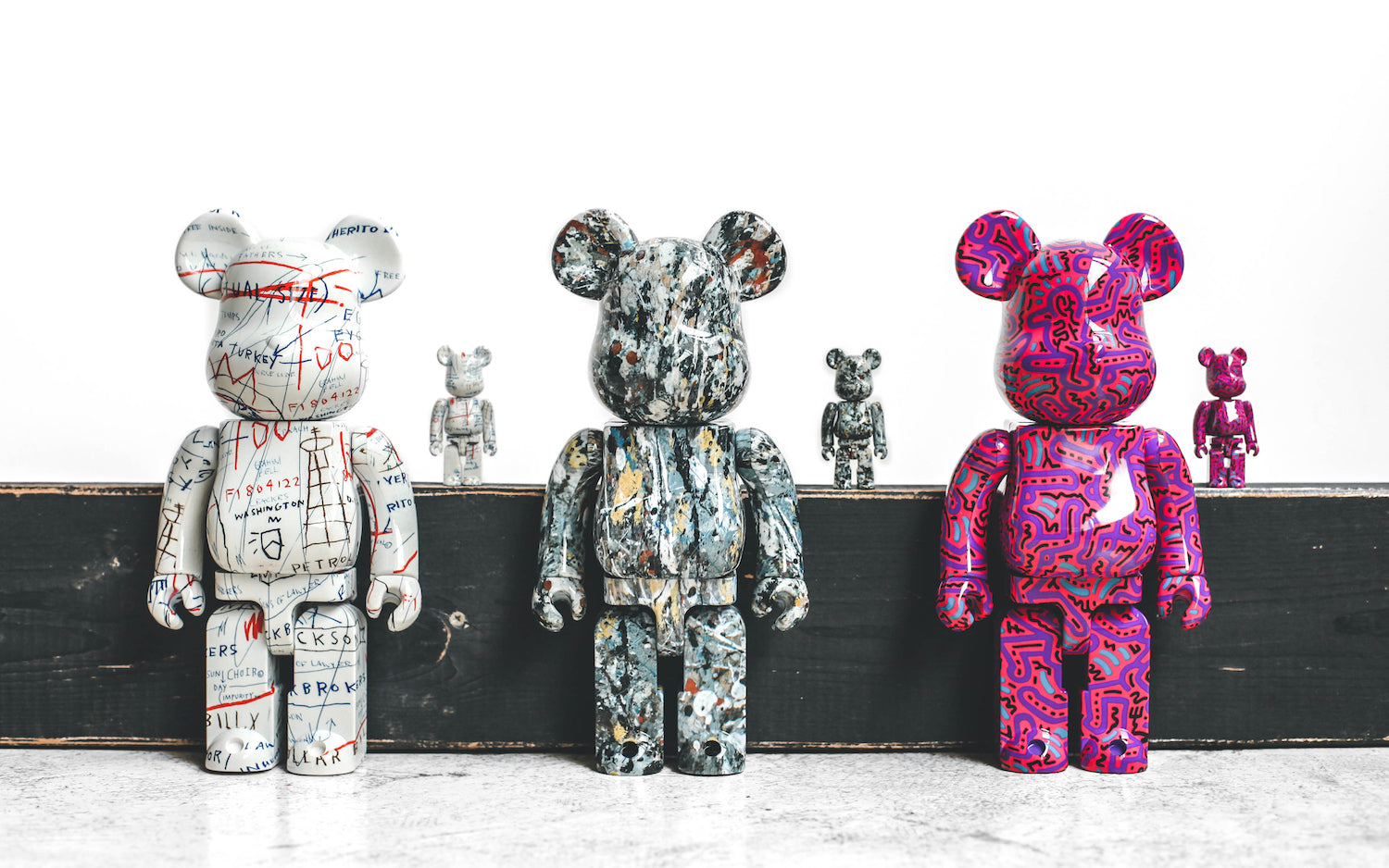Medicom Toy releases new BE@RBRICKs in collaboration with artists