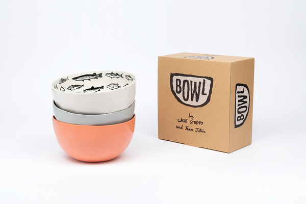 "Light up your dinner table with ""BOWL"" by Jean Jullien x Case Studyo"