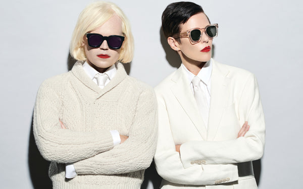 Karen Walker talks about the brand's first Men's Eyewear Collection