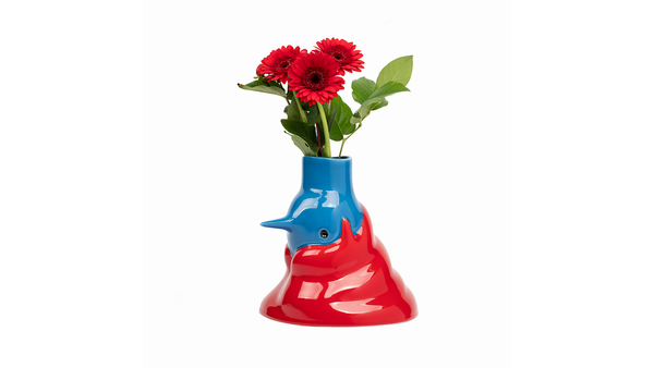 Have a WOAW Christmas! The Upside Down Face Vase by Parra