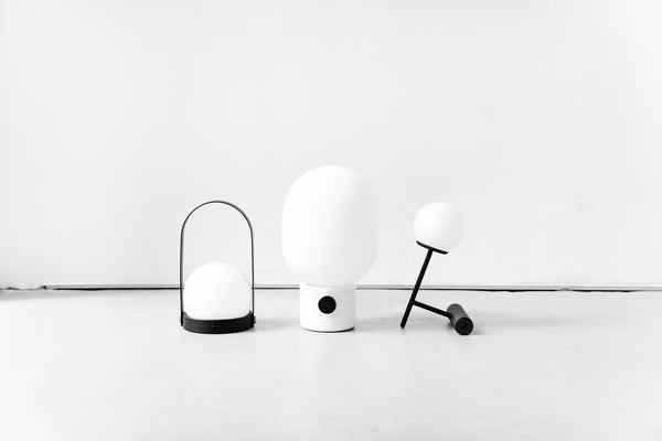Connecting Spaces - Table lamps by Menu