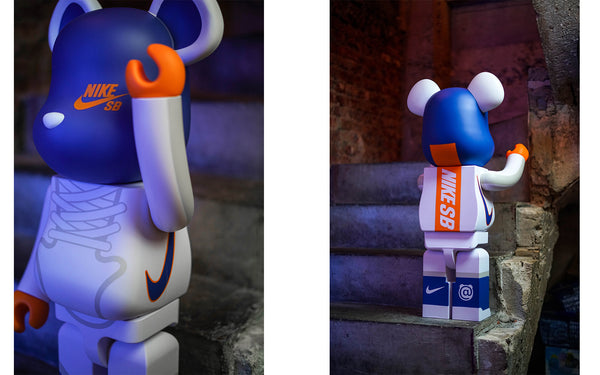 Another Round of Medicom Toy x NIKE SB BE@RBRICK Collection Is Here