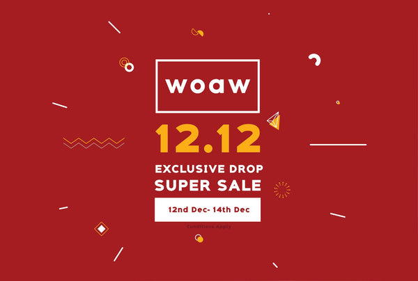 12.12 Xmas Guide! WOAW Store introduces 12 Exclusive items that you don't want to miss.