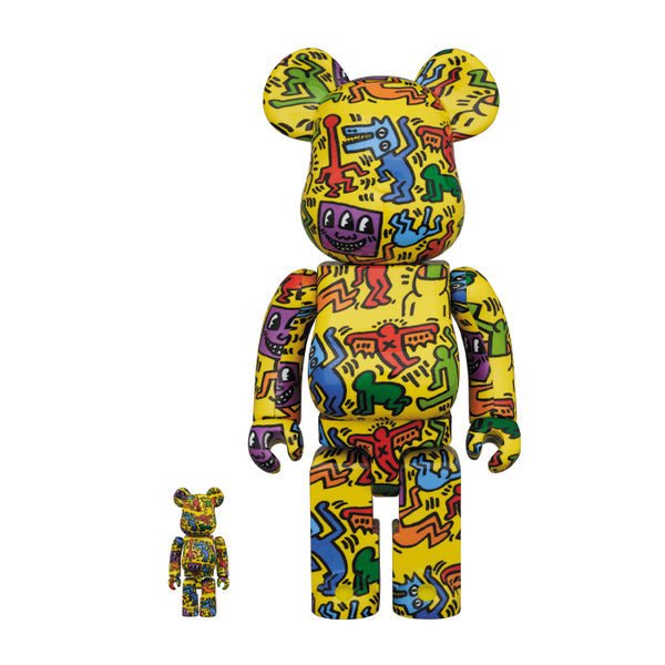 KEITH HARING #5 100% & 400% BEARBRICK