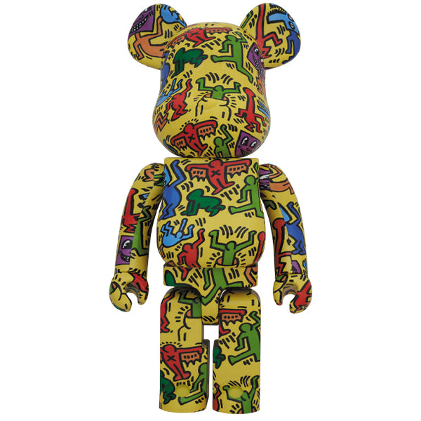 KEITH HARING #5 1000% BEARBRICK