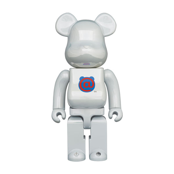 1st MODEL WHITE CHROME 400% BE@RBRICK
