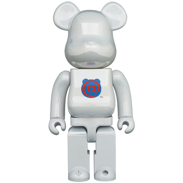 1st MODEL WHITE CHROME 1000% BE@RBRICK
