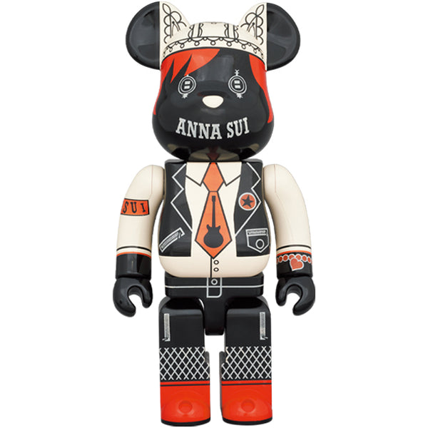 ANNA SUI RED & BEIGE 1000%BE@RBRICK