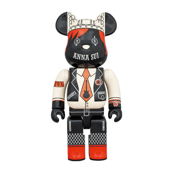 ANNA SUI RED & BEIGE 400%BE@RBRICK