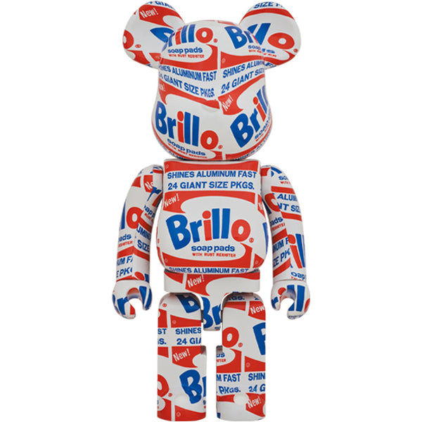 ANDY WARHOL BRILLO 1000% BE@RBRICK