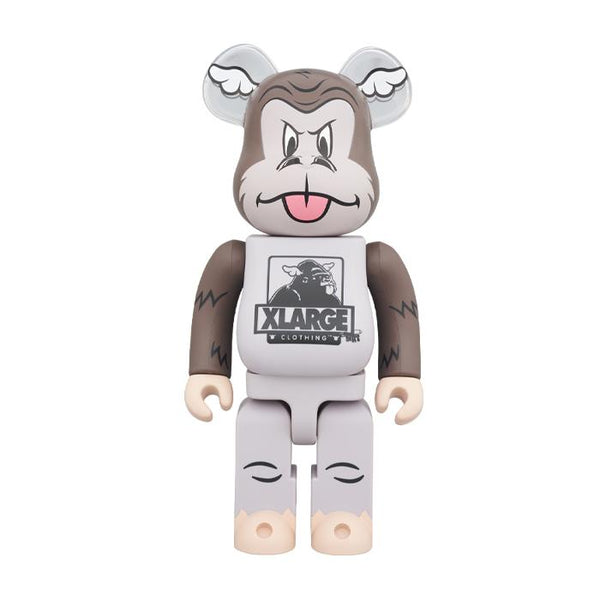 D*Face x XLARGE 100% & 400% BE@RBRICK - Brown
