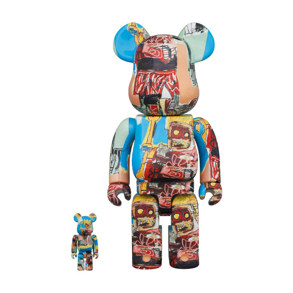 Jean-Michel Basquiat #6 100% + 400% BE@RBRICK Set