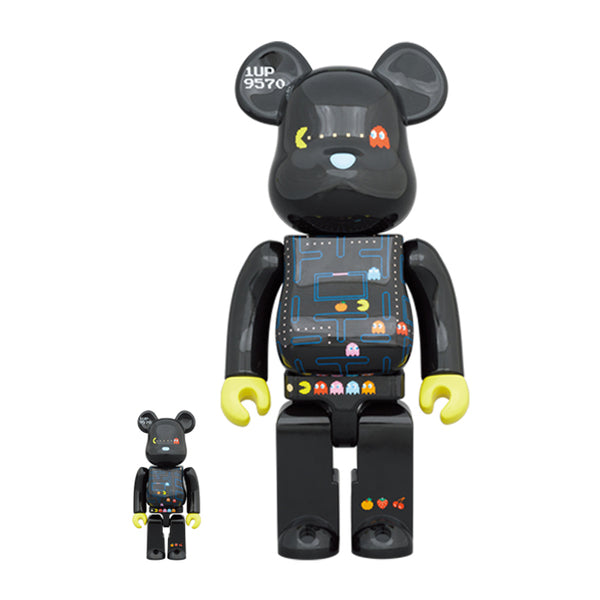 PAC-MAN 400% + 100% BE@RBRICK