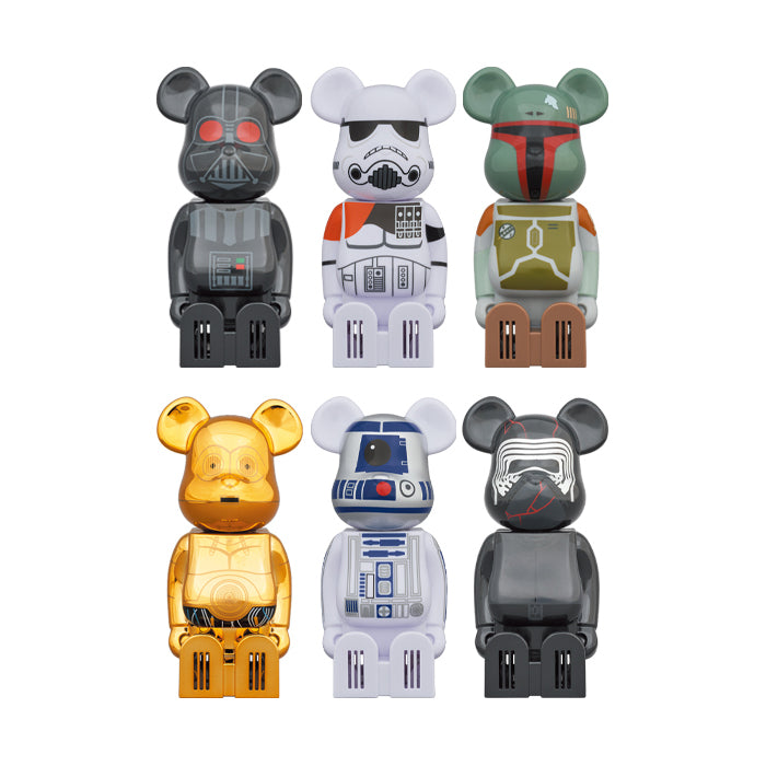 Cleverin x BE@RBRICK x Star Wars Air Purifier Set of 6