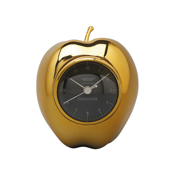 UNDERCOVER √ó MEDICOM TOY GILAPPLE CLOCK GOLD