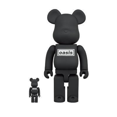 Oasis Black Rubber Coating 400% + 100% BE@RBRICK