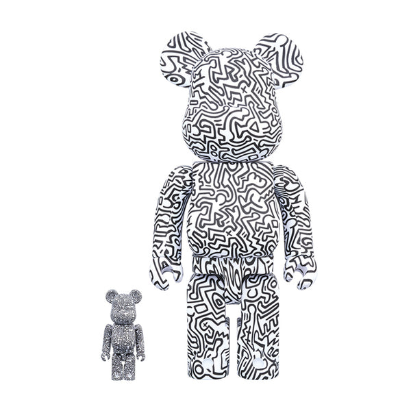 Keith Haring #4 100%&400%set BE@RBRICK