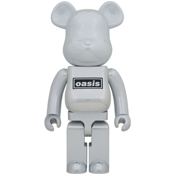 Oasis White Chrome Rubber Coating 1000% BE@RBRICK