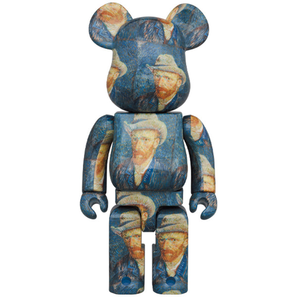 Van Gogh Museum Self-Portrait with Grey Felt Hat 1000% BE@RBRICK