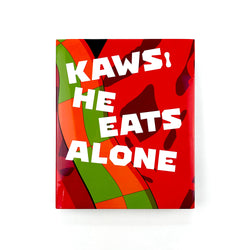 He Eats Alone Hardcover Book