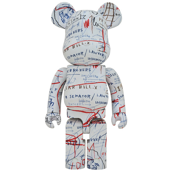 JEAN-MICHEL BASQUIAT #2 1000% BE@RBRICK