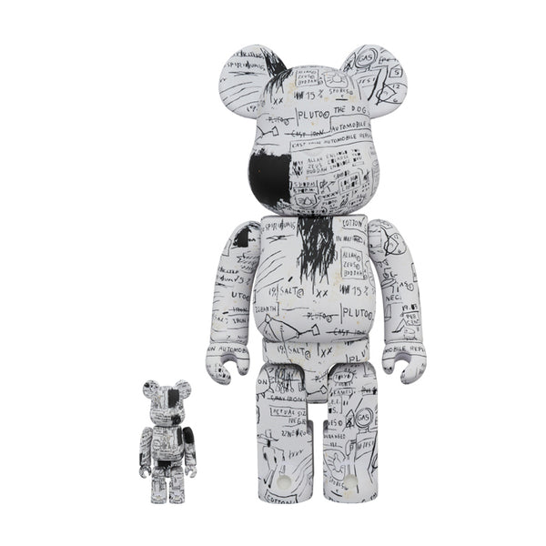 Jean Michel Basquiat #3 100% & 400% BE@RBRICK