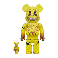 Skull Face 400% & 100% BE@RBRICK