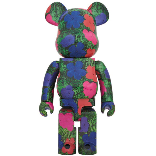 "Andy Warhol ""Flowers"" 1000% BE@RBRICK"
