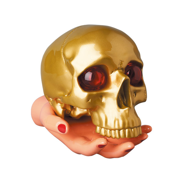 UNDERCOVER X P.A.M. SKULL & HAND LAMP - GOLD