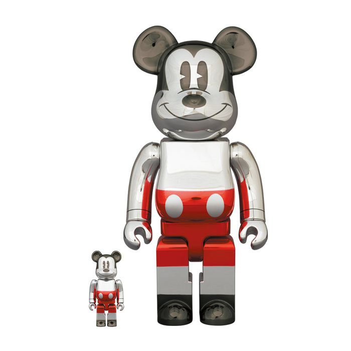 FUTURE MICKEY (2nd COLOR Ver.) 100% & 400% BEARBRICK
