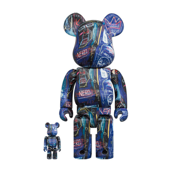 Jean-Michel Basquiat #7 100%&400% BE@RBRICK